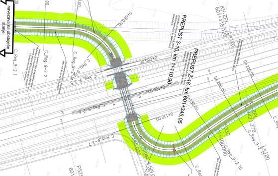 Hydrologisch – hydraulische Analyse mit Hochwasserkarten im Rahmen des Projekts »Entwurfsplan zum Bau des II. Bahngleises Maribor – Šentilj – Staatsgrenze.«