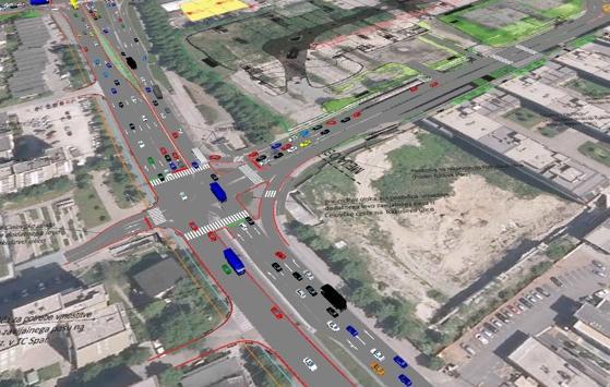 Prometna studija povezivanja područja trgovačkog centra Spar Šiška