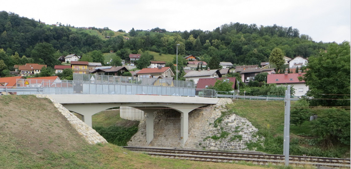Reconstruction of the overpass across the railway in Sevnica