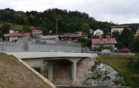 Rekonstrukcija nadvožnjaka preko željeznice u Sevnici