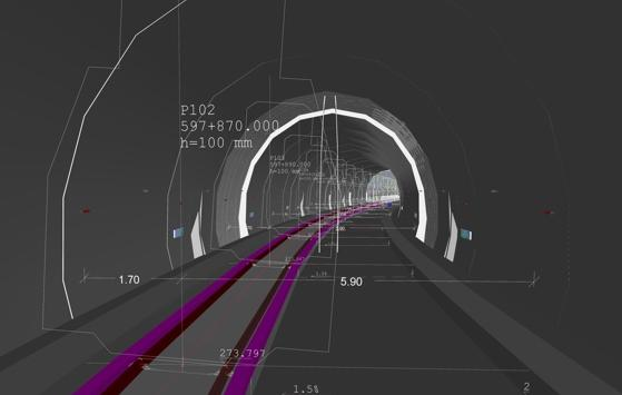 Information modelling for the section of the Maribor-Šentilj railway line