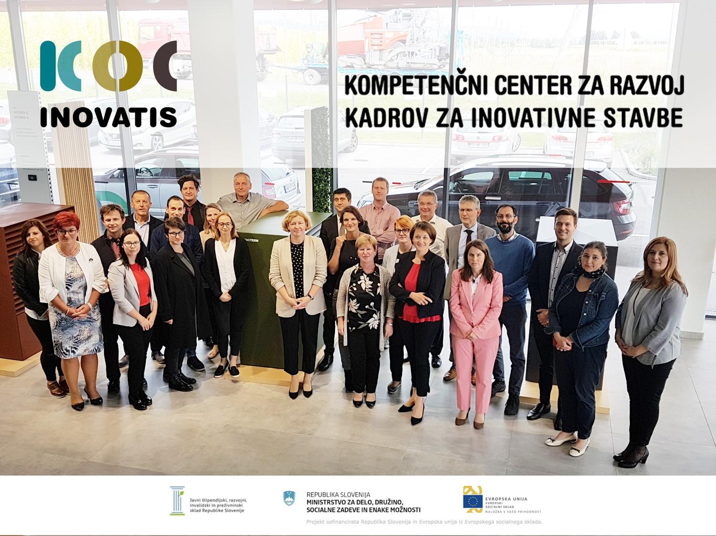 KOC INOVATIS – Kompetenčni center za razvoj kadrov za inovativne stavbe je eden izmed desetih odobrenih kompetenčnih centrov tretje generacije KOC 3.0 za obdobje 2019-2022